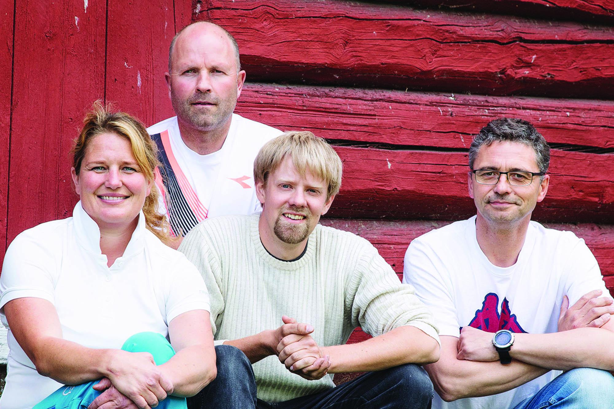 Gründerne bak Norsk dyreomsorg. Foto: Anne M. Steine